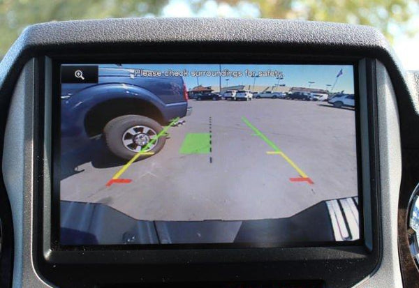 Ford Sync 2 Truck Tailgate Logo Backup Camera Kit
