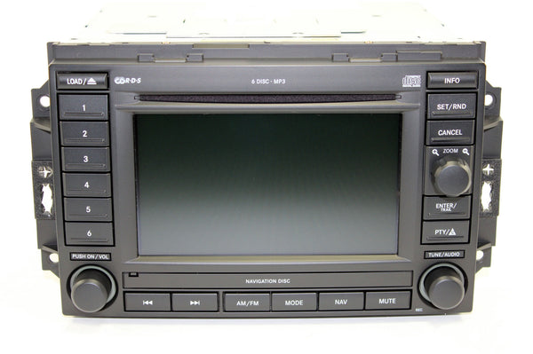 2006-2007 Dodge Charger GPS Navigation REC Radio
