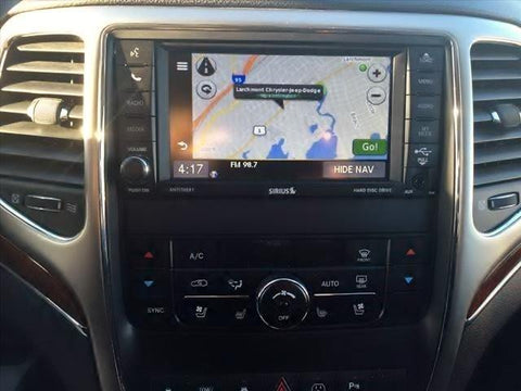 2011-2013 Jeep Grand Cherokee GPS Navigation RHB 430N Radio