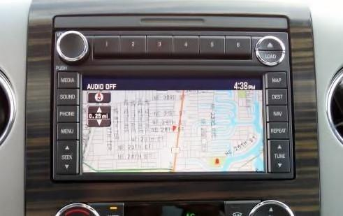 2005 jeep radio wiring diagram 2004 2008 ford f 150 gps navigation    radio        infotainment com  2004 2008 ford f 150 gps navigation    radio        infotainment com