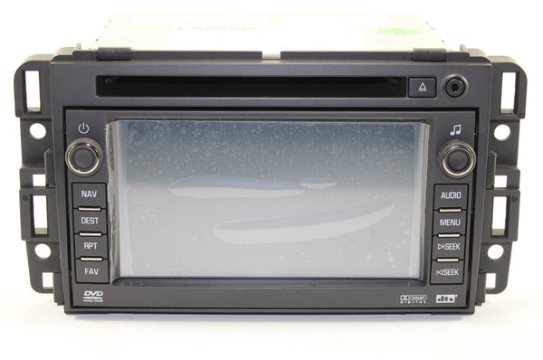 2007-2009 Chevrolet Tahoe Factory GPS Navigation Radio