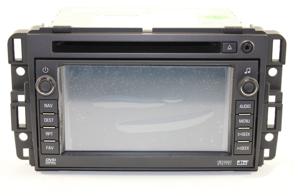 2010-2013 GMC Sierra 1500 Factory GPS Navigation Radio