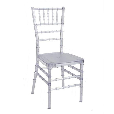 Ice Ballroom Chair - Rental
