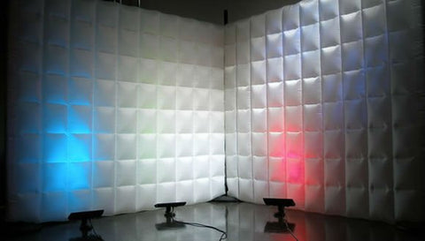 Inflatable Event Wall, Pillow Wall - Straight Wall