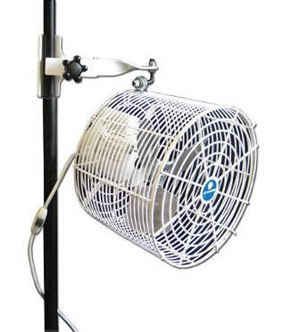 "12"" Versa-Kool Schaefer Air Circulation Tent Fan with Switch"