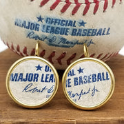 Precious Metal-Plated MLB Earrings