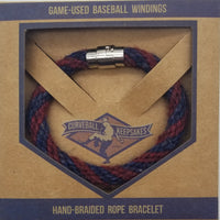 "8.25"" Rope Bracelet made from Yarn Baseball Windings - Orioles @ Braves 6/23/18 - F. Freeman"