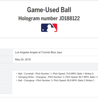 Build Your Own Hand-Braided Rope Bracelet. Hand-Dyed and Braided Yarn Baseball Windings - Angels @ Blue Jays 5/24/18 - S. Ohtani