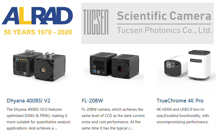 TUCSEN Scientific Cameras - Special Deal