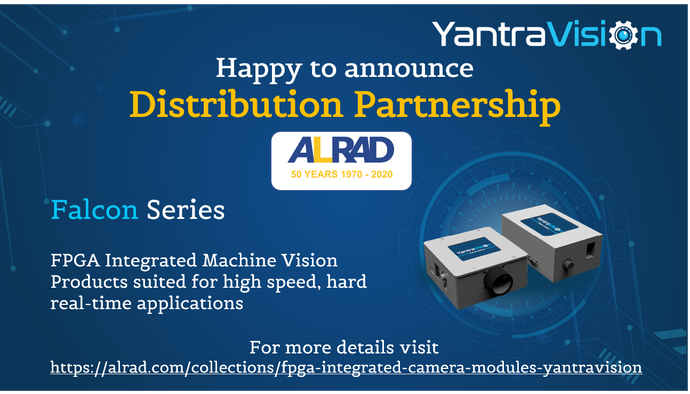 Announcing our new YantraVision Distribution Partnership