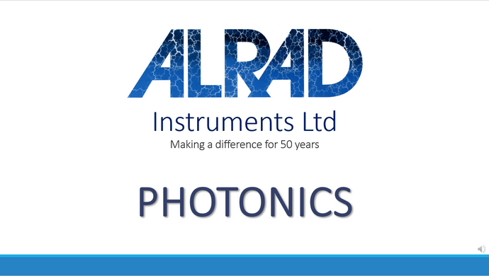 ALRAD Instruments - Photonics Division Overview