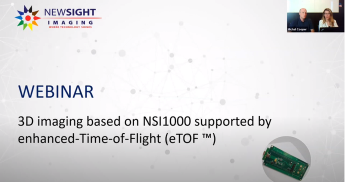 ALRAD Instruments invites you to view the Newsight Imaging enhanced Time-of-Flight eTOF™ Webinar