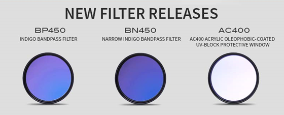 NEW Filter Releases from Midwest Optical Systems