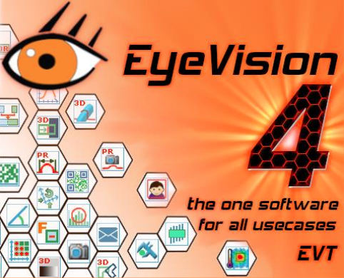 New:  EyeVision 4   Vision Software with 64Bit Operating System