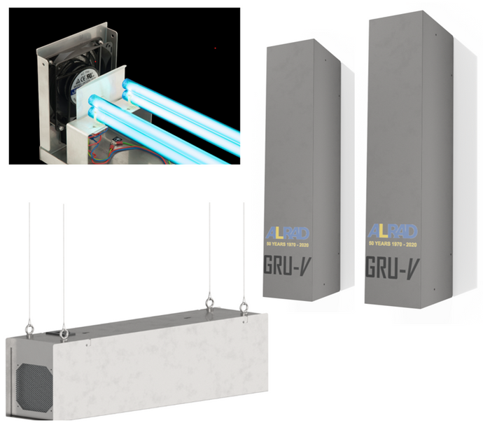UV-C Air Disinfection Systems for Industrial, Commercial and Medical use - The science and the products