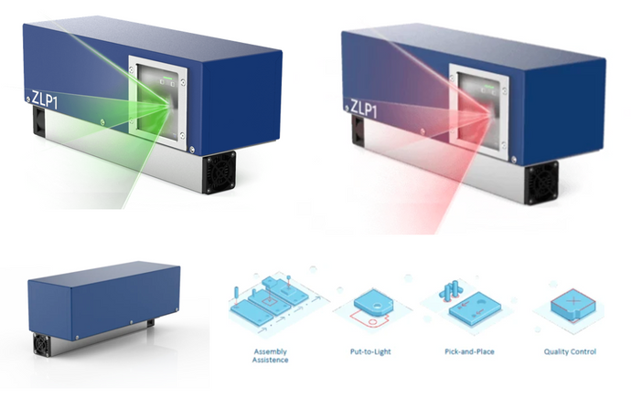 ZLP1  Compact, Powerful and easy to use Laser Projector