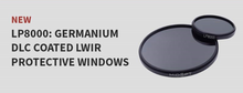 Load image into Gallery viewer, LP8000   Germanium DLC Coated LWIR Protective Windows - Alrad