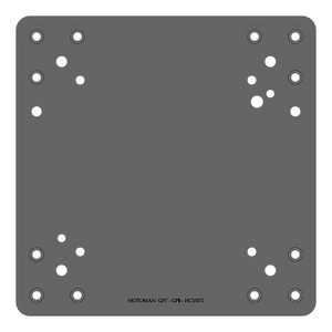 RB-MP-YAS-300   Robot Mounting Plate - Alrad