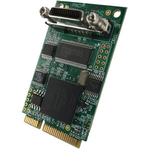 PIXCI® EB1miniTGS   Mini PCI Express x1 Base Camera Link Test Generator - Alrad