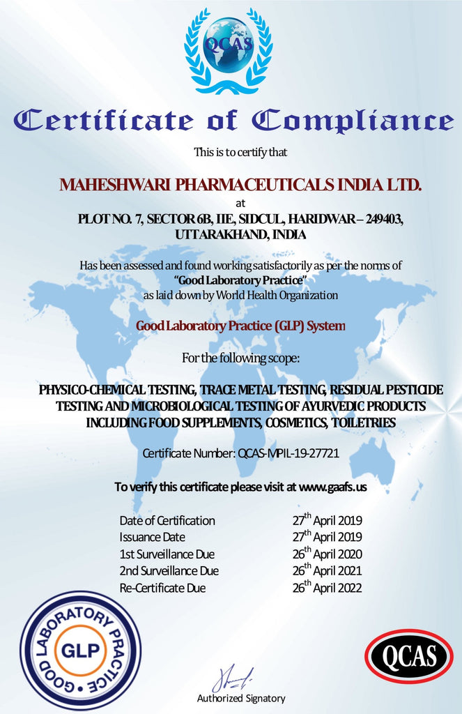 (AUTHORISED BY GLP & WHO) <br>100% drug safety assurance
