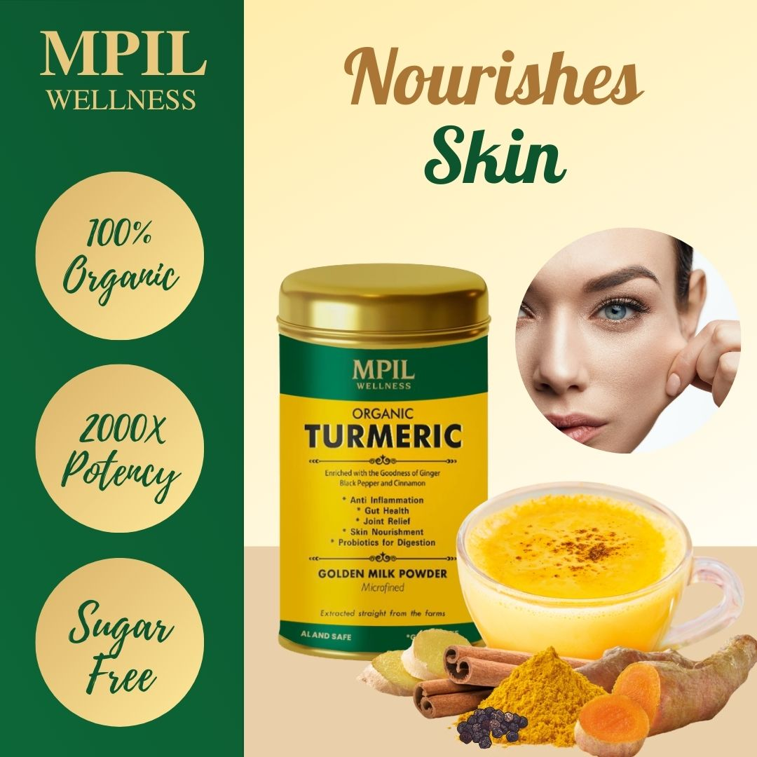 ORGANIC TURMERIC - GOLDEN MILK POWDER