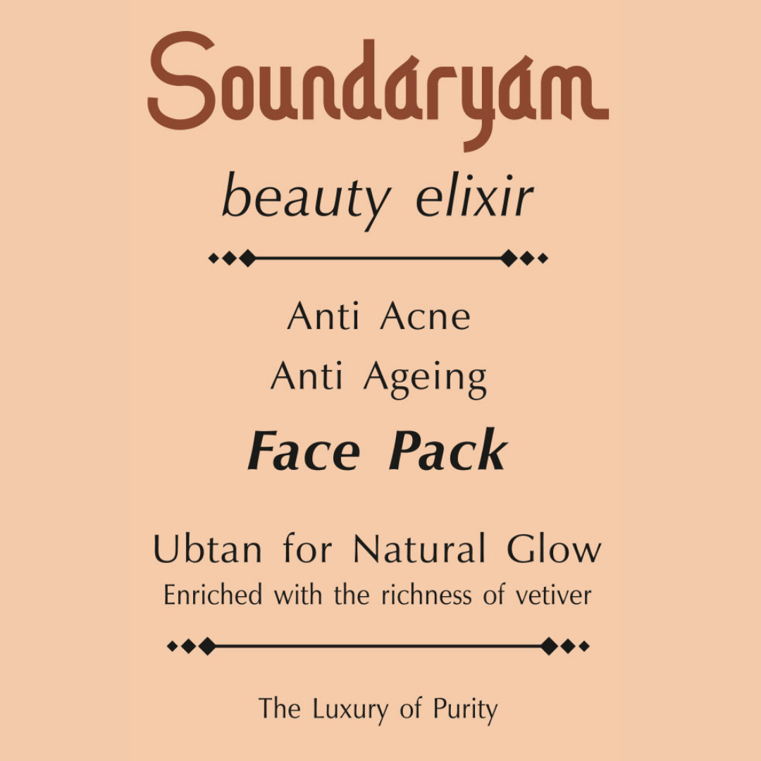 Soundaryam Face Pack - Ubtan for Natural Glow