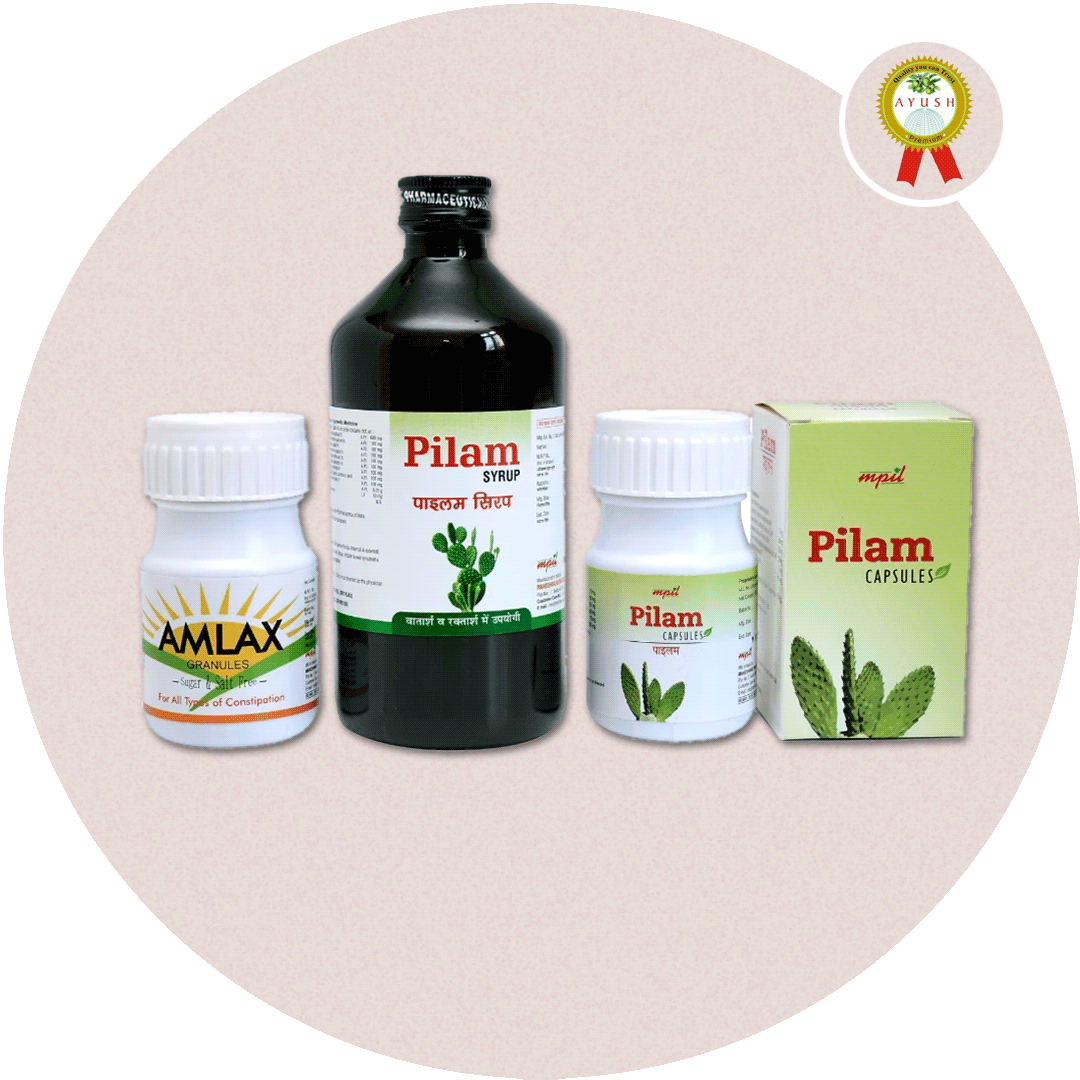 PILES AND FISSURE KIT -  AYURVEDA FOR A HEALTHIER YOU