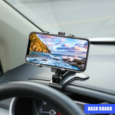 360° Universal Car Dashboard Mount Holder Stand Bracket For Mobile Phone GPS Support For iPhone 12 11 XS X XR Xiaomi