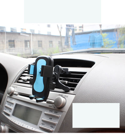 Cellphone  air outlet Car Holder Stand 360 Degree Rotating Flexible Navigating Socket  Universal Car Phone Holder