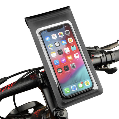 360° Rotation Bike Bicycle Motorcycle Phone Holder Stand Waterproof Phone Mount Case Bag for iPhone X XS XR 6 s 7 8 Samsung S9