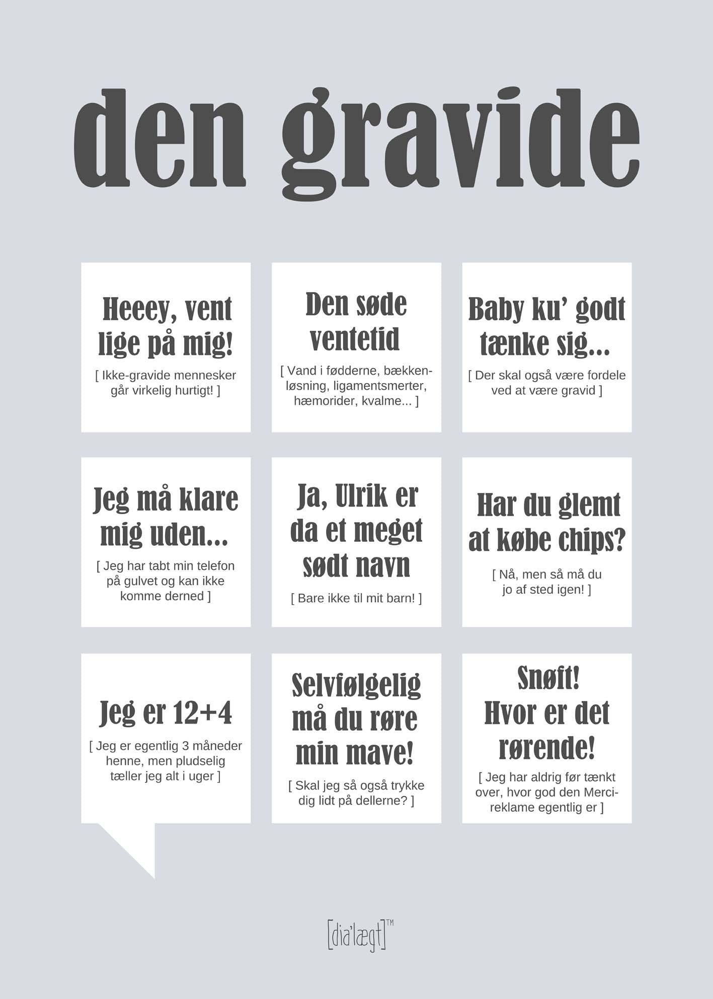 Image of   Den Gravide plakat