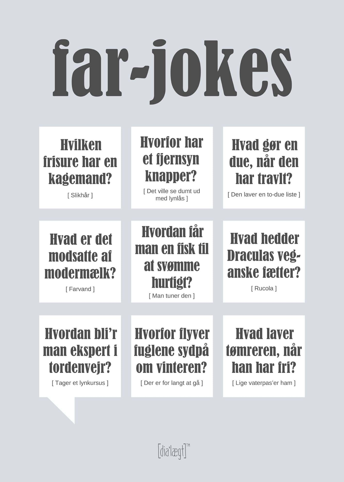 Image of   Far Jokes plakat