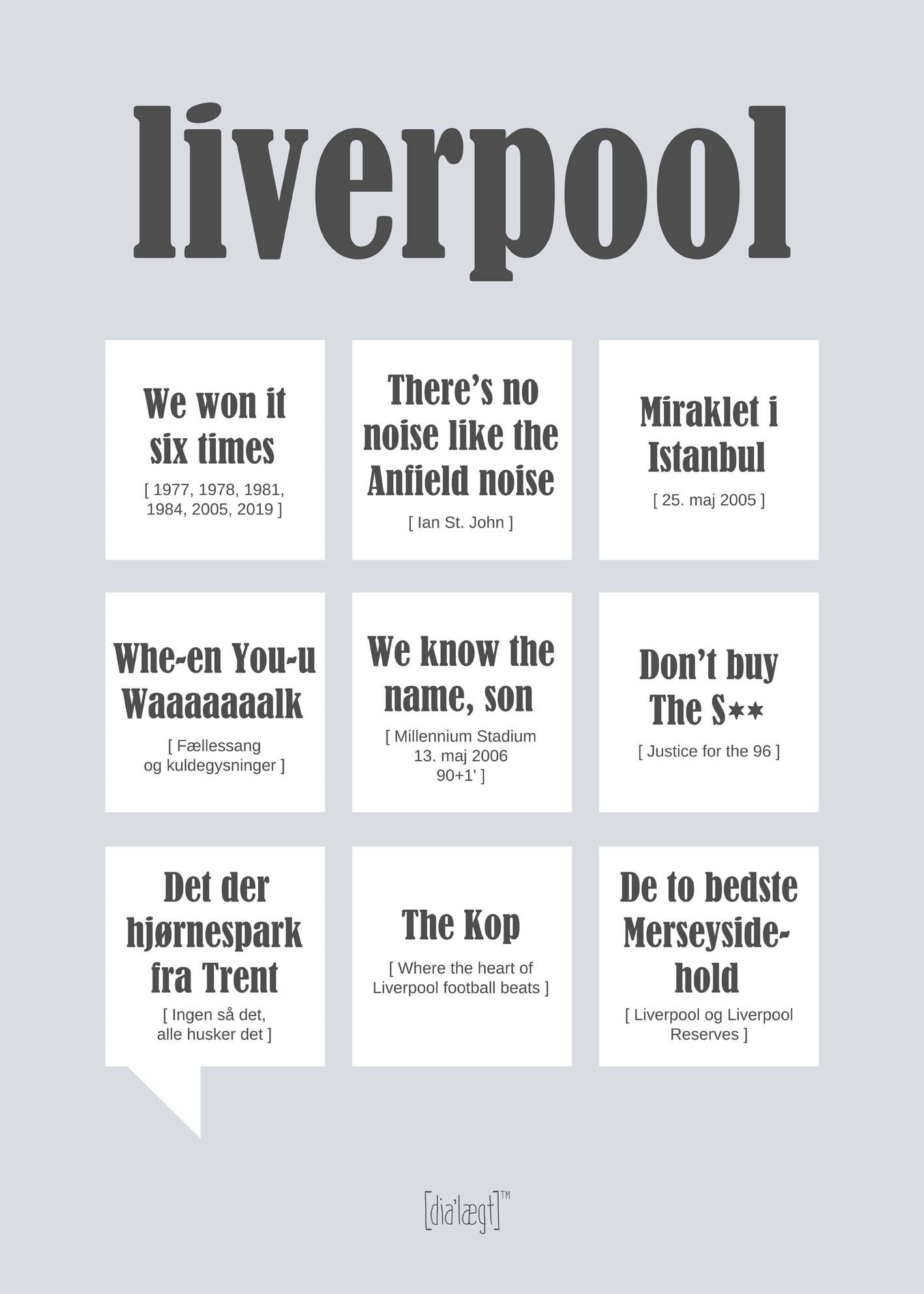 Image of   Liverpool plakat