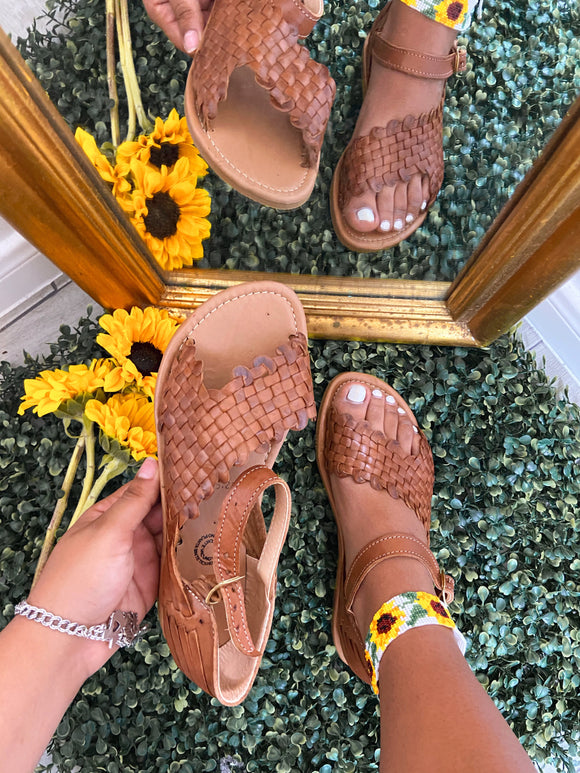 Nayarit Leather Sandals