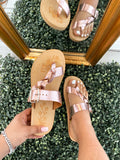 Sierra Leather Sandals