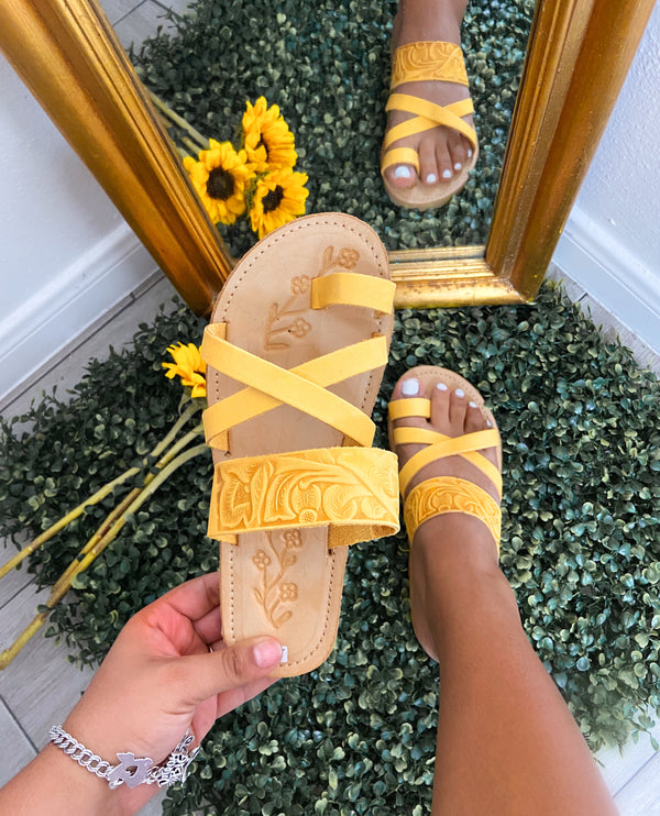 Tulum Leather Sandals