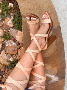 Catalina Leather Heels