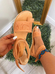Hasen Leather Sandal
