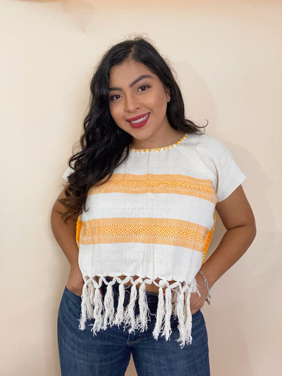 El Rebozo Crop Top