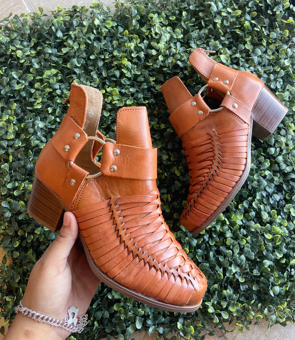 Arizona Leather Booties
