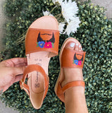 Kahlo Leather Sandals