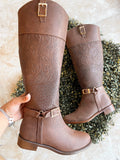 Otoño Boots Dark Brown