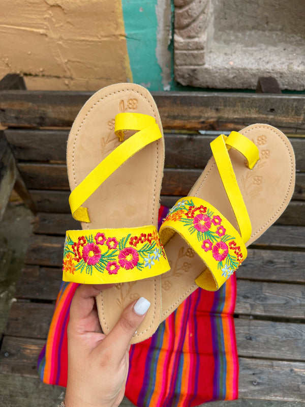 Tropicana Leather Sandals
