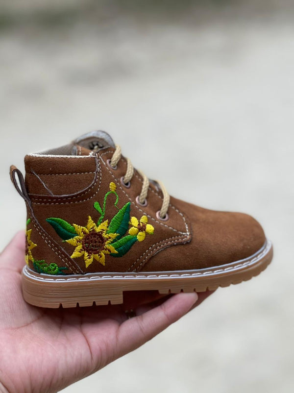 Sunflower Boots for Kids