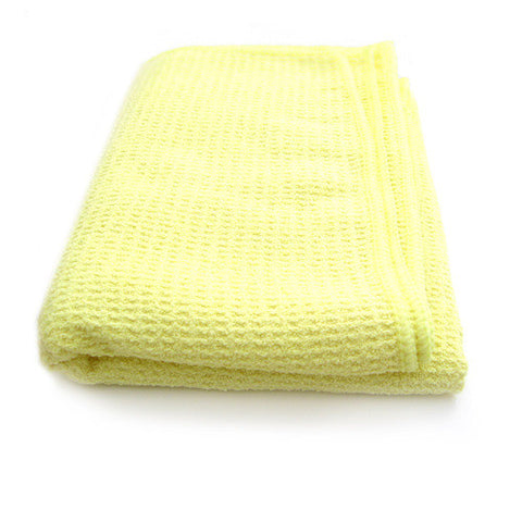 Joe's Waffle Weave Wonder Drying Towel - Yellow