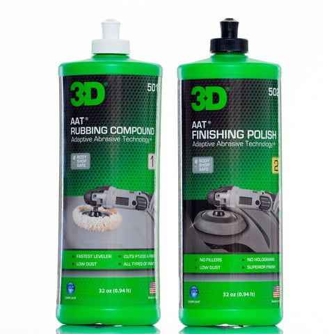 3D AAT Compound & Polish Kit