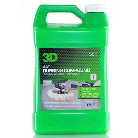 3D AAT Rubbing Compound - 1 Gallon
