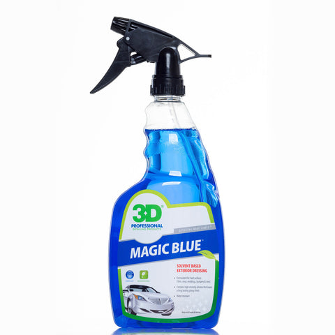 3D Magic Blue - Solvent Based Tire Dressing