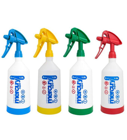 Kwazar Mercury Pro+ 1.0 Litre Double Action Trigger Sprayer - Pack