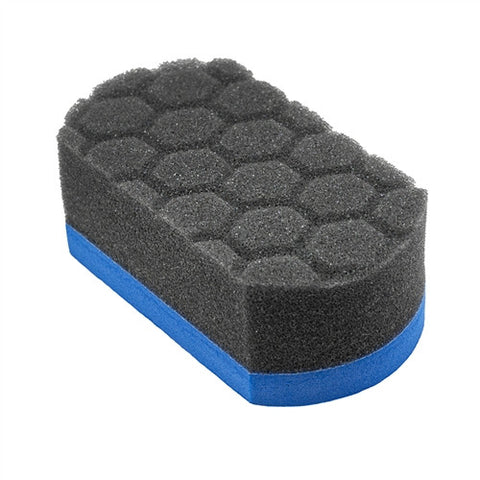 Chemical Guys Easy Grip Soft Hex Logic Applicator Pad - Blue